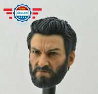 1/6 scale male head sclupt for 12'' action figure PHICEN