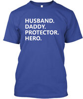 Comfortable Husband Daddy Protector Hero - Hanes Hanes Tagless Tee T-Shirt