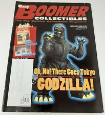 BABY BOOMER COLLECTIBLES Magazine V.3 #5 Jan.1996 GODZILLA, SPORTS, BRADBURY