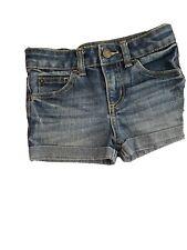 Nwt Cherokee By Target Cuffed Denim Jean Shorts Girls Size Xs 4/5