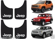 "(4) Plasticolor 000575R01 9x15"" Jeep Mud Flap Splash Guard New Free Shipping USA"
