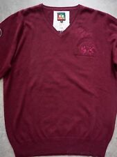 JERSEY LA MARTINA V-NECK COL. BORDEAUX  TALLA  XL