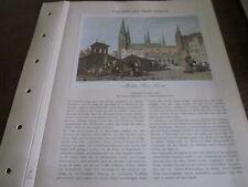 Lübeck Archiv 2 Stadtbild 2040 Marktplatz nmit dem Kaak 1836 A.G. Vickers