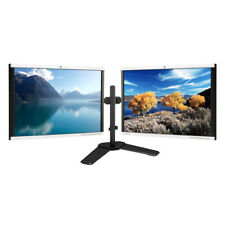 """MAJOR BRAND DUAL LCD 22"""" HDMI FLAT MONITOR SCREEN GAMING WITH DUAL LCD STAND"""