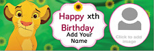 Personalised Birthday Party Banners Customised Lion King Lions