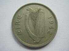 Ireland 1942 copper nickel Sixpence VF