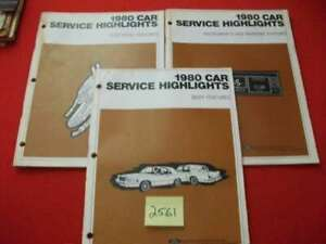1980 FORD SET 3 CAR SERVICE HIGHLIGHTS MAN. BODY,ELECTRICAL,INSTRUMENT & WARNING