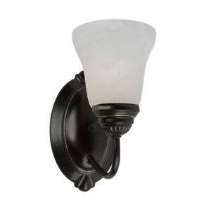 Sea Gull Lighting 44760-782 Oaklyn 1-Light Bath Heirloom Bronze Finish