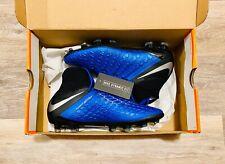 Nike JR Hypervenom Phantom 3 Elite DF FG Blue AJ3791-400 Youth 4Y, Women's 5.5