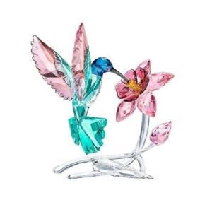 SWAROVSKI CRYSTAL PARADISE HUMMINGBIRD 5461872.NEW IN BOX