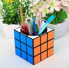 Z Cube 3 X 3 Pencil Pot Desk Tidy Study Gift Christmas Cubing Twisty Fun UK