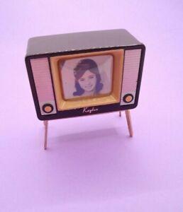 Vintage Barbie Kaybee KB Miniatures Celluloid Polyloid Japan - TV VERY RARE