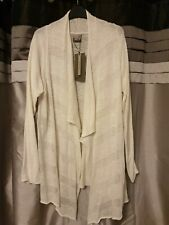 Vero Moda Fine Knit Waterfall Cardigan Size L or 14/16 BNWT