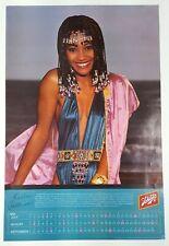 1980 Schlitz Beer Poster * Kellee Patterson 1st Black Miss Indiana Miss America