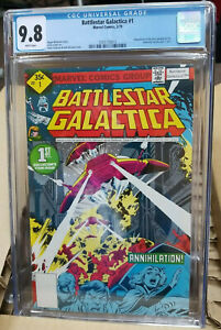 BATTLESTAR GALACTICA #1 CGC 9.8 RETAIL $349.00 CHECK SOLD PRICES