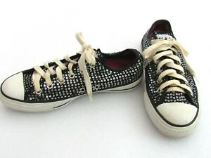 Converse Chuck Taylor All Stars Black Glitter Women's 5.5