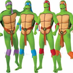 TMNT Men's Fancy Dress Superhero Costume Party Ninja Turtles