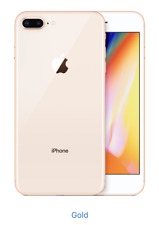 Apple iPhone 8 Plus - 256GB - Gold (Unlocked) Sealed Box