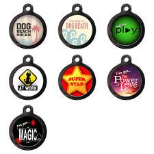 Fun Pet ID Tags Custom Pet Tags Personalised ID Dog Disc For Collar -Fun Designs