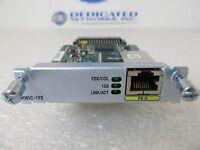 Cisco HWIC-1FE 1 Port Fast Ethernet High-Speed WAN Router Interface Card KAJ