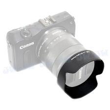 JJC EW-54 Lens Hood for Canon EF-M 18-55mm f3.5-5.6 IS STM EOS M2 M3 M10 Camera