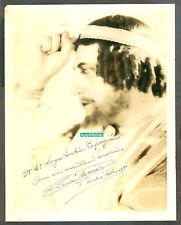 REN'E MAISON PROMINENT BELGIUM OPERA TENOR PHOTO SIGNED 1941