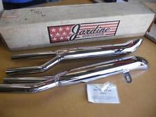 NOS Suzuki GS550 thru 1981 Jardine 4 Into 2 Mufflers Turn Out 22-2892 1255