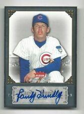 2006 Fleer Greats autographed baseball card Randy Hundley, Chicago Cubs