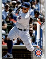 (40) 2020 Topps Series 1 ANTHONY RIZZO 40-Card Base Lot Cubs #51