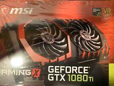 MSI NVIDIA GeForce GTX 1080 TI Gaming X Video Card 11GB