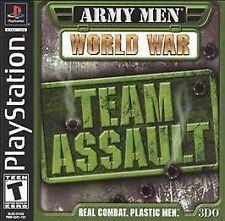 Army Men: World War Team Assault (Playstation) PS1 PSX