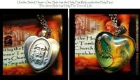 St.Veronica's Veil Heart Reliquary Holy Fire relic Tomb of Jesus