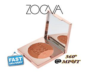 Zoeva Radiant Bronzer and Highlighter Multi Use Powder Cream Cheek Brush Pairing