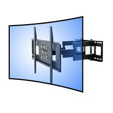 """Fleximounts CR1 Wall Mount Bracket for Curved Panel TV's 32""""-65"""" 132 lbs - Black"""