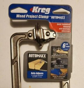 KREG 6-inch Automaxx Wood Project Clamp