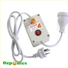 HYDROPONICS GROWLUSH FAN SPEED CONTROLLER For Ventilation System Odor Control