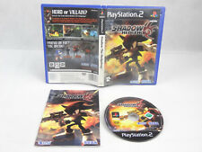 Shadow The Hedgehog PS2 PlayStation 2 Complete PAL