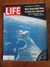 Life Magazine Remarkable Views Earth Ever Recorded Gemini Cooper Conrad 1965