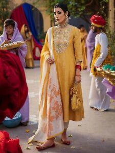 Pakistani Eid Designer LIMELIGHT EMBROIDERED JACQUARD 2PC SUIT khaadi maria b