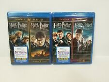 Blueray Harry Potter Double Features Year 5 6 7 Part 1 & 2
