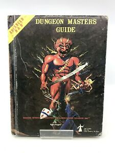 Vintage Dungeon Masters Guide Book TSR Games Advanced D&D Hard Cover