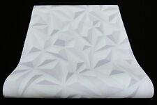 6478-10) moderne Vliestapete mit schicker 3D Optik  grau + weiß