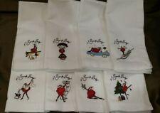 Pottery Barn Santa Baby Dinner Napkins Set of 8