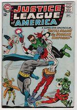 Justice League of America #35 nice 1965 DC Batman Flash create-a-lot & save