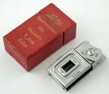 SAIOO 7,3cm 7,3 Sportsucher Albada sports view finder Leitz LEICA 1935 MINT box!