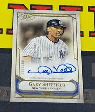2021 Topps Tier One Gary Sheffield Auto /300 New York Yankees