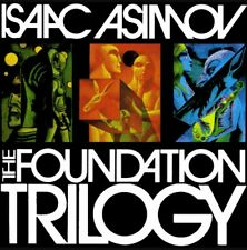 Isaac Asimov Foundation Trilogy Complete 7 Audio Books MP 3 DVD 87 Hours