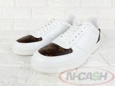 BIDSALEONLY! AUTHENTIC $875 LOUIS VUITTON Rivoli 7 White Monogram Sneakers