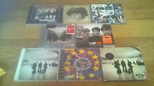 U2 - Collection Of 7 CD Albums By U2