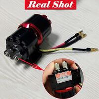 High Power Hydraulic Oil Pump Brushless Gear Pump for Tamiya 1/14 RC Trailer Car